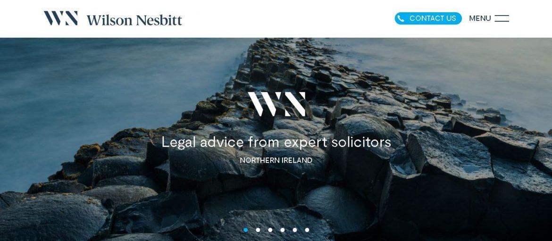 Modern, Clean, Law Firm Website Design